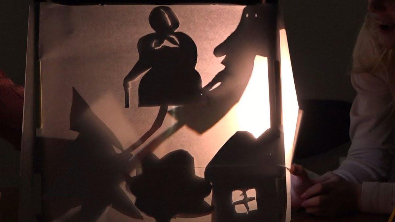 Александра Соломатина Театр теней для детей своими руками. Мастер-класс для волонтёров