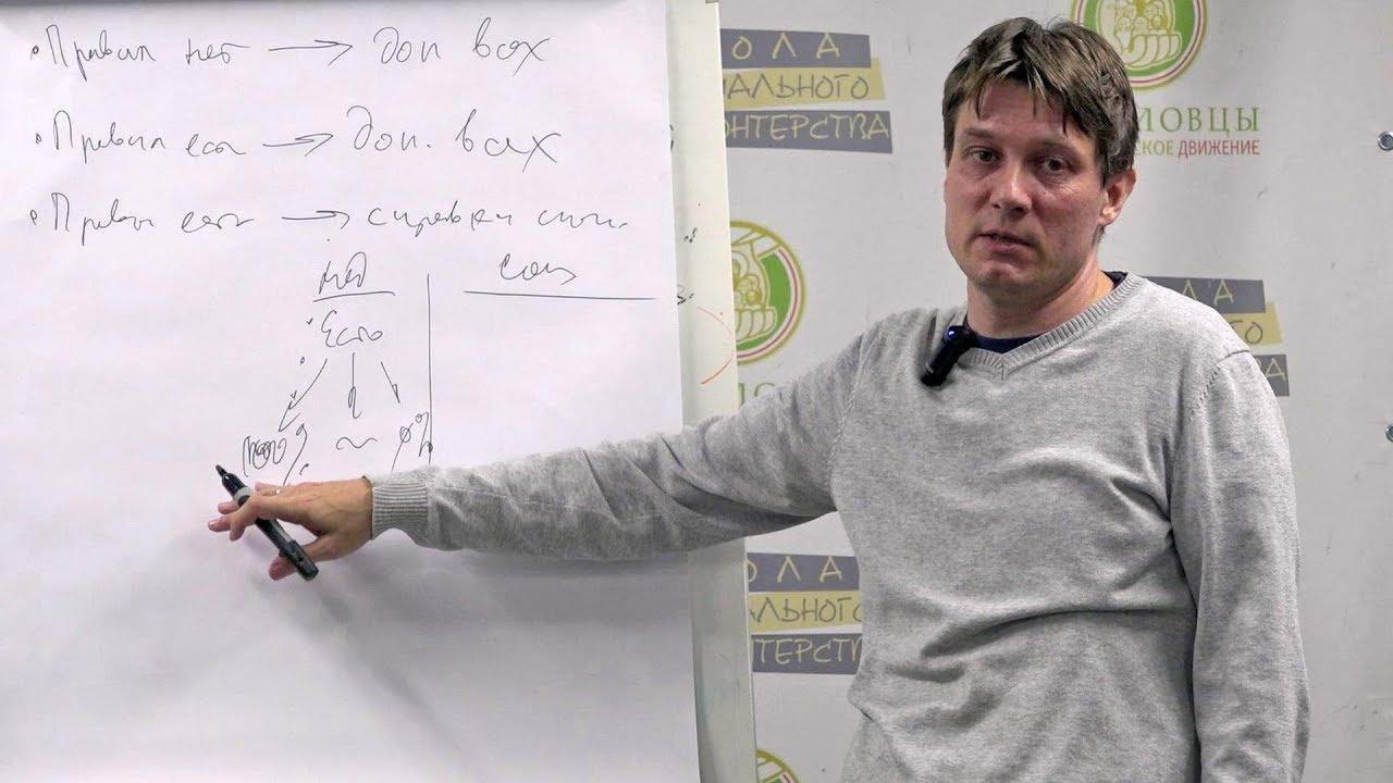 Юрий Белановский-Государство, учреждение и координатор волонтёрской группы. Школа координаторов