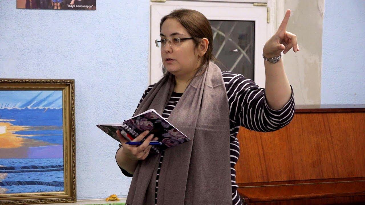 Алёна Характерова-Волонтёрская группа: управление и координация. Школа координаторов