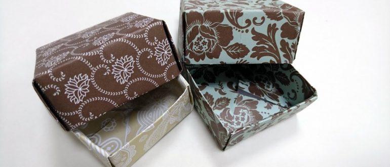 Анастасия Коломина Подарочные коробочки-Новогодние поделки с детьми. Мастер-класс для волонтёров